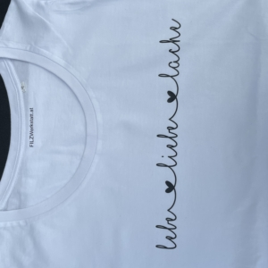 T-Shirt Lebe Liebe Lache